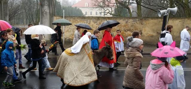 W Niedzielę Palmową, 29 marca, zainaugurowaliśmy obchody Wielkiego Tygodnia. W południe uczestniczyliśmy w procesji z palmami. W rolę Jezusa wjeżdżającego do Jerozolimy wcielił się w tym roku Alan. Popołudnie wypełnił […]
