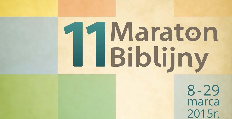 Maraton Biblijny w naszej parafii – 29 marca 2015