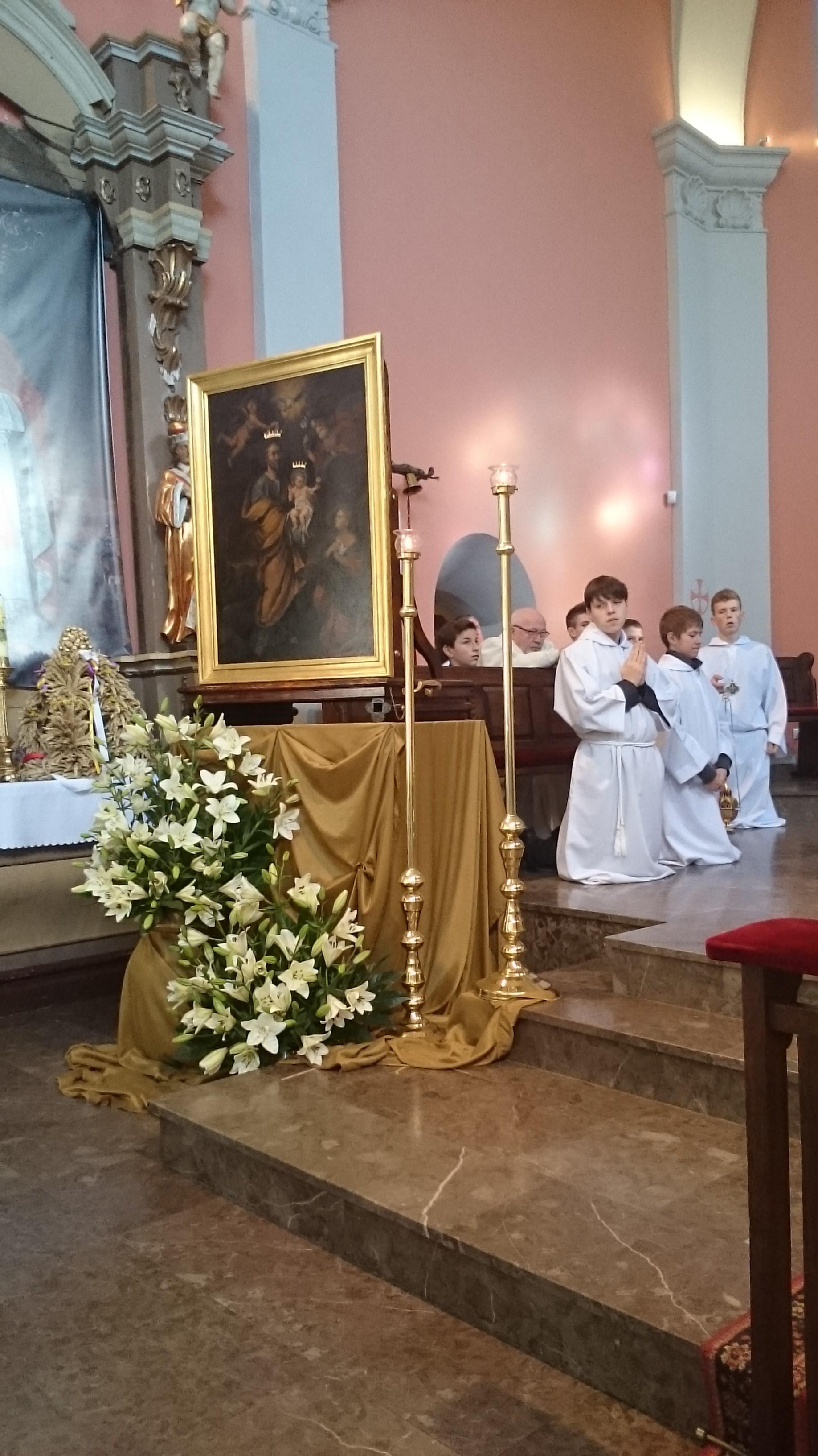 Nawiedzenie obrazu św. Józefa – 10/11 października 2015