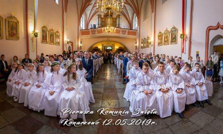 I Komunia święta – 12 maja 2019