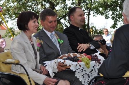 Dożynki parafialne i gminne – 9 września 2012