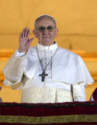 Msza dziękczynna za wybór papieża Franciszka