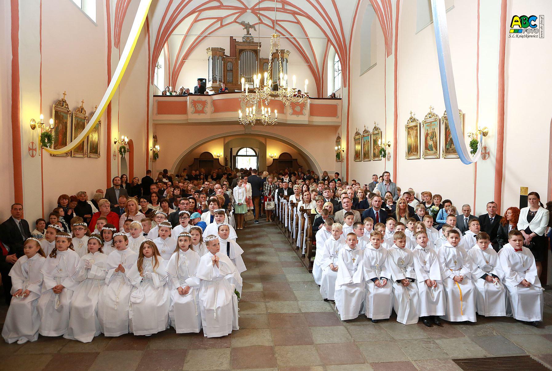 Uroczystość I Komunii św – 10 maja 2015